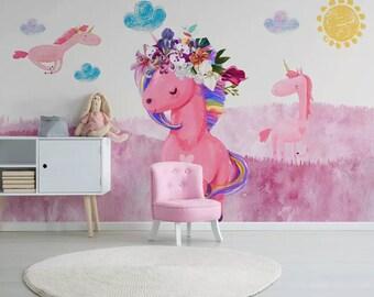 Unicorn Wallpaper Etsy