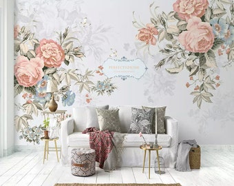 English Wallpaper Etsy