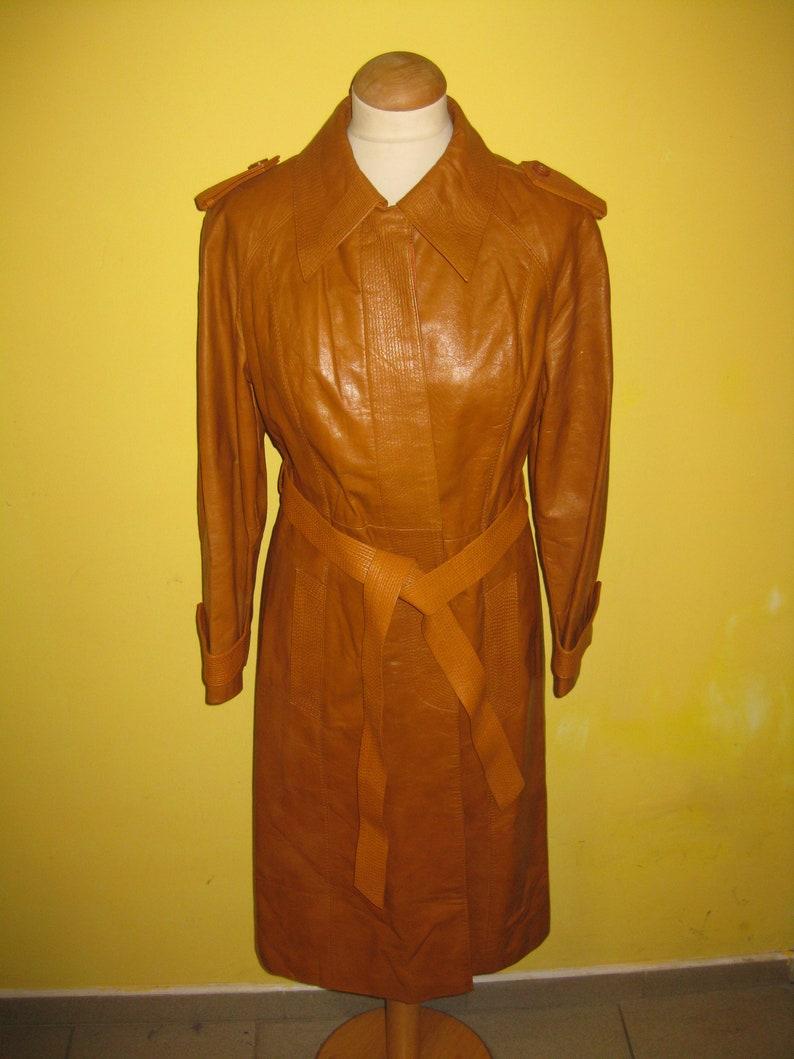 ec91abf95 Vintage Women's Genuine Leather Coat, Women's Coat, Leather Coat, Vintage  Coat, Vintage Clothing, Vintage Women's Clothing, Vintage Original