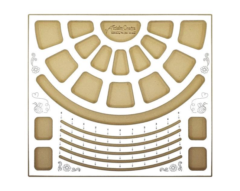 40002 Bracelet Design Beading Board by Acclaim Crafts. Need image 0