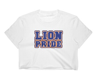 f5003ac79 Lion Pride | Lincoln University | LU Fitted Women's Crop Top