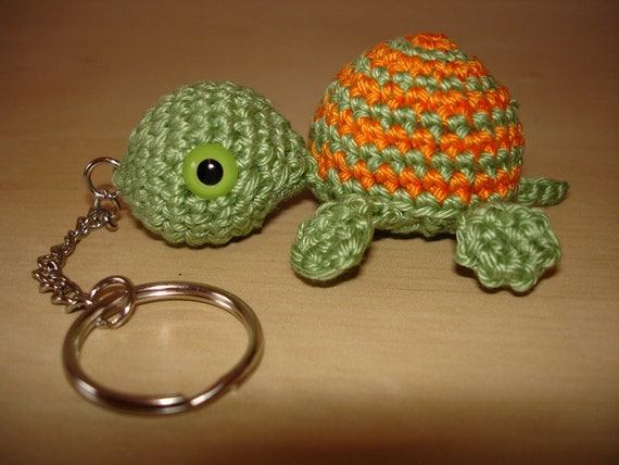 Turtle Amigurumi or Keychains Crochet FREE | Crochet turtle ... | 428x570