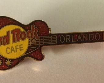 Hard Rock Cafe PARIS Fish Guitar Pin .