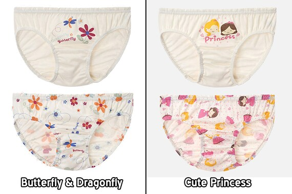 3T-7 HiOrganic 100/% Organic Cotton Toddler Boys and Girls Briefs Underwear Panty 3 Pack