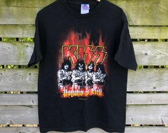 3874b504 1999 Psycho as Hell Kiss T-shirt