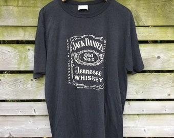e2f8e55b887d4 80 s Jack Daniels Vintage Graphic T-shirt