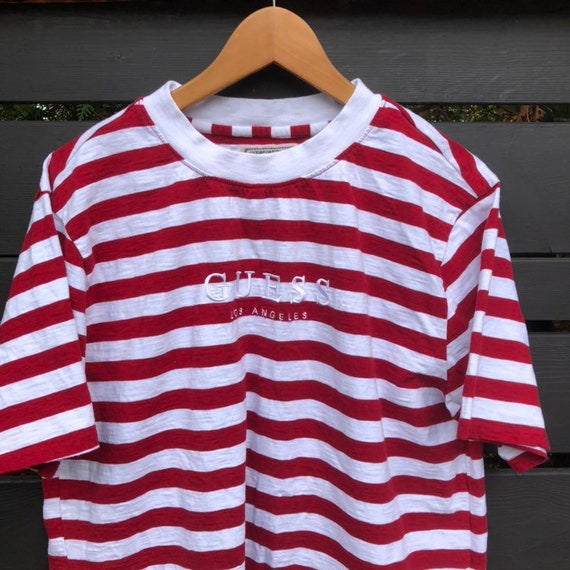 Guess Los Angeles Striped T-shirt