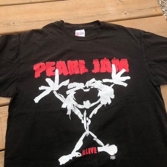 1992 Pearl Jam Alive Tour Vintage T-shirt