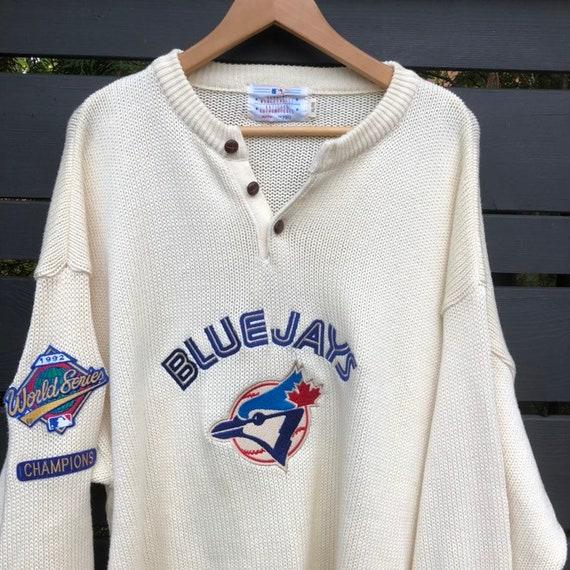 Vintage Toronto Blue Jays Knit Sweater