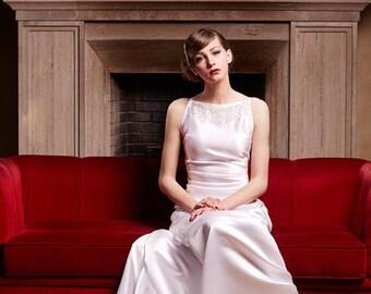 65384ab9820 Wedding art deco dress Grace