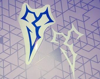 Final Fantasy X Symbol Vinyl Decal