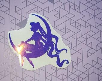 Magical Sailor Girl Decal (Sticker)