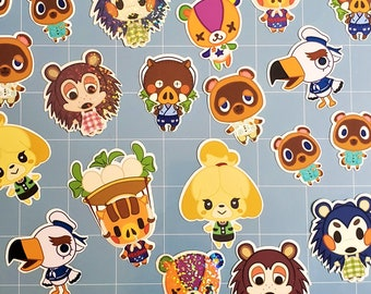 Animal Crossing Stickers (ACNH)