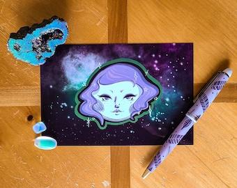 Moon Goddess Fine Art Print