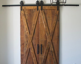 Rustic Barn Door From Real Antique Barn Wood