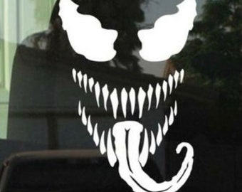 Venom decal | Etsy