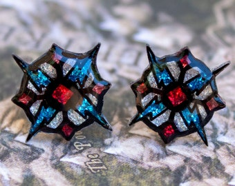 Stormlord Holy Symbol Earrings