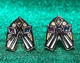 Traveler Holy Symbol Earrings