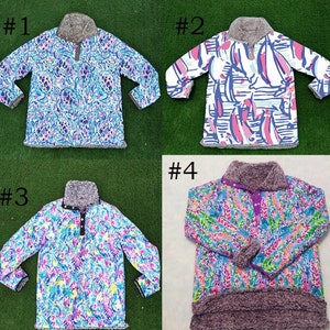 Country Charm Cow Print Sherpa Sweater Pullover for Kids