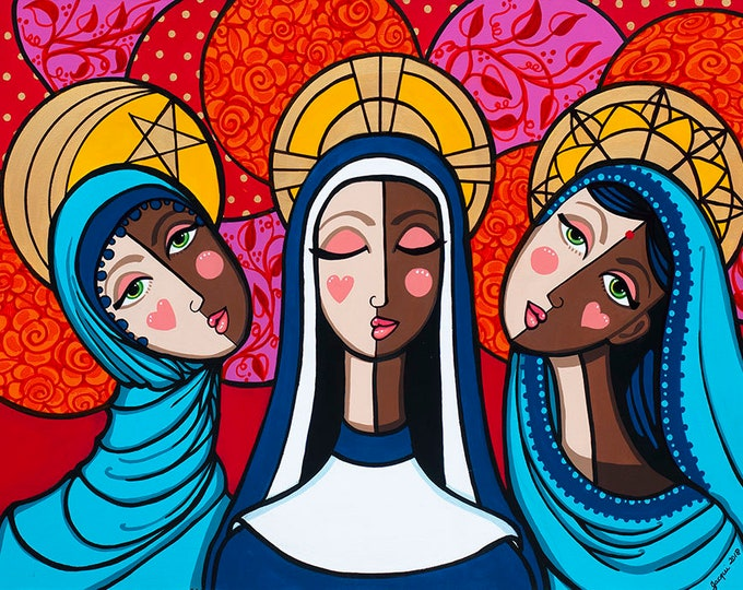 Featured listing image: Sisterhood of the Covered Head (prints)