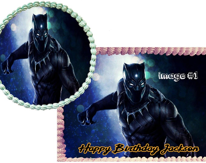 Black Panther - Coco Decoration - Cupcake Topper - Cake Decorating - Customize Cakes - Cupcake or Cookie Toppers - Custom Edible Images