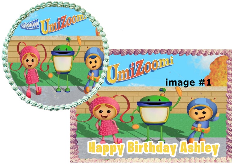 Team Umizoomi Cake Custom Edible Images Celebration
