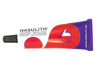 7,83 EUR / 100ml - Jewelry adhesive / craft adhesive Hasulith - 30 ml