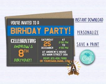 Invitations Etsy