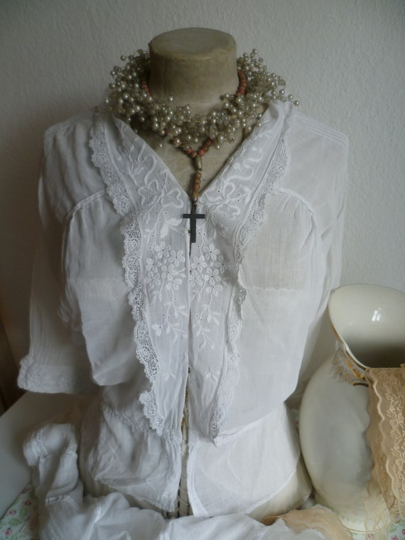 vintage blouse, blouse, bodice, antique, antique