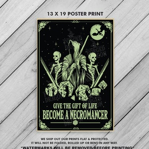 You Can Certainly Try.. D/&D Caverns and Creatures Poster