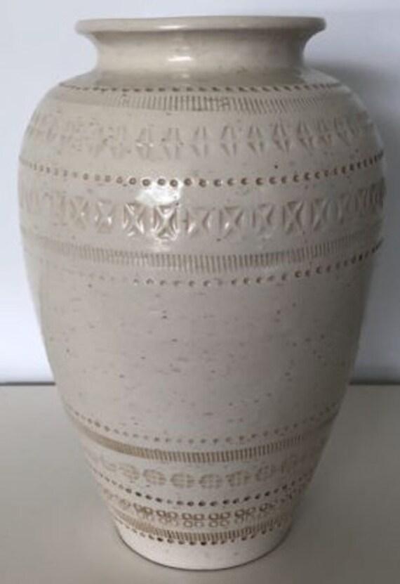 Vintage Mid Century Bitossi Vase For Pier 1 Imports Etsy
