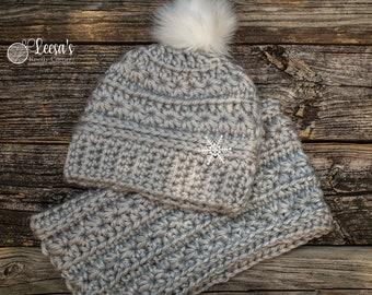Stargazer Beanie and Cowl Crochet Pattern