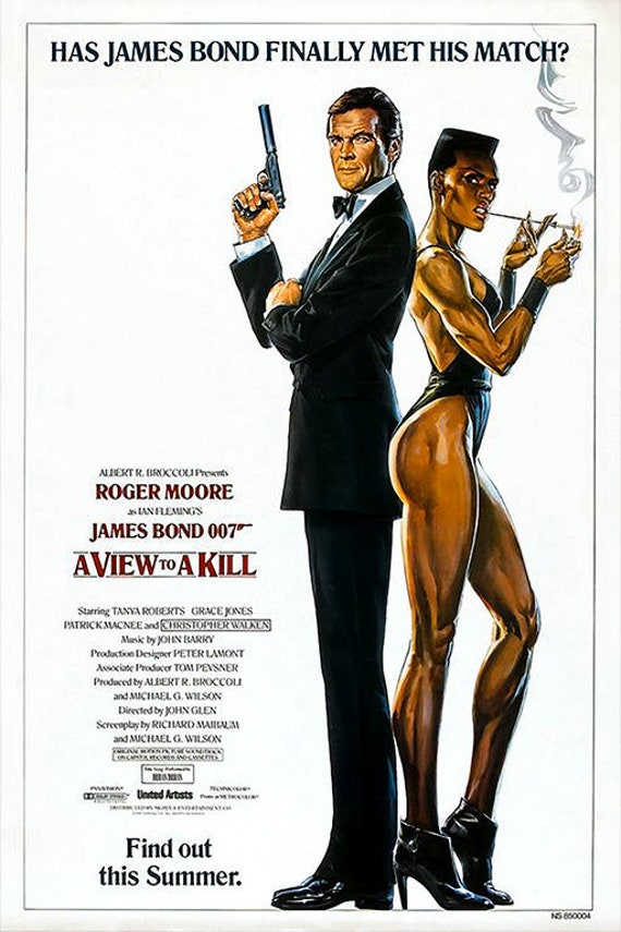 Image result for a view to a kill poster