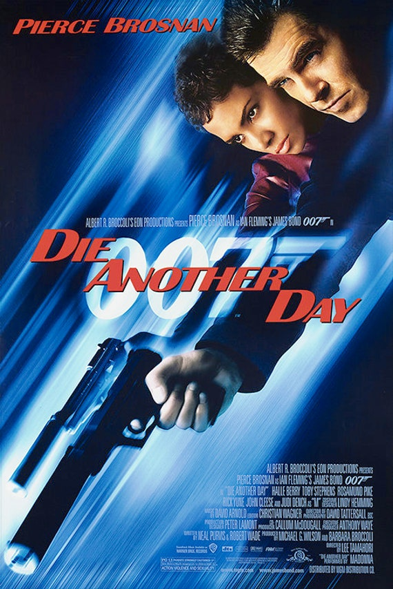 Image result for die another day poster