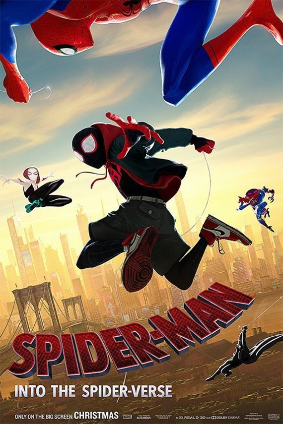05-KIDS Massive Wall Poster//Picture//Art Spiderman Movie