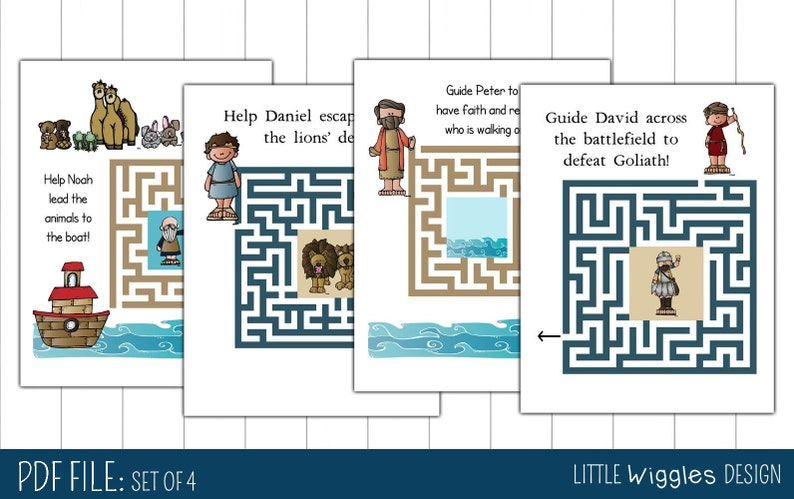 picture relating to Printable Mazes for 3 Year Olds called Ages 3-5 Bible sport and printable maze