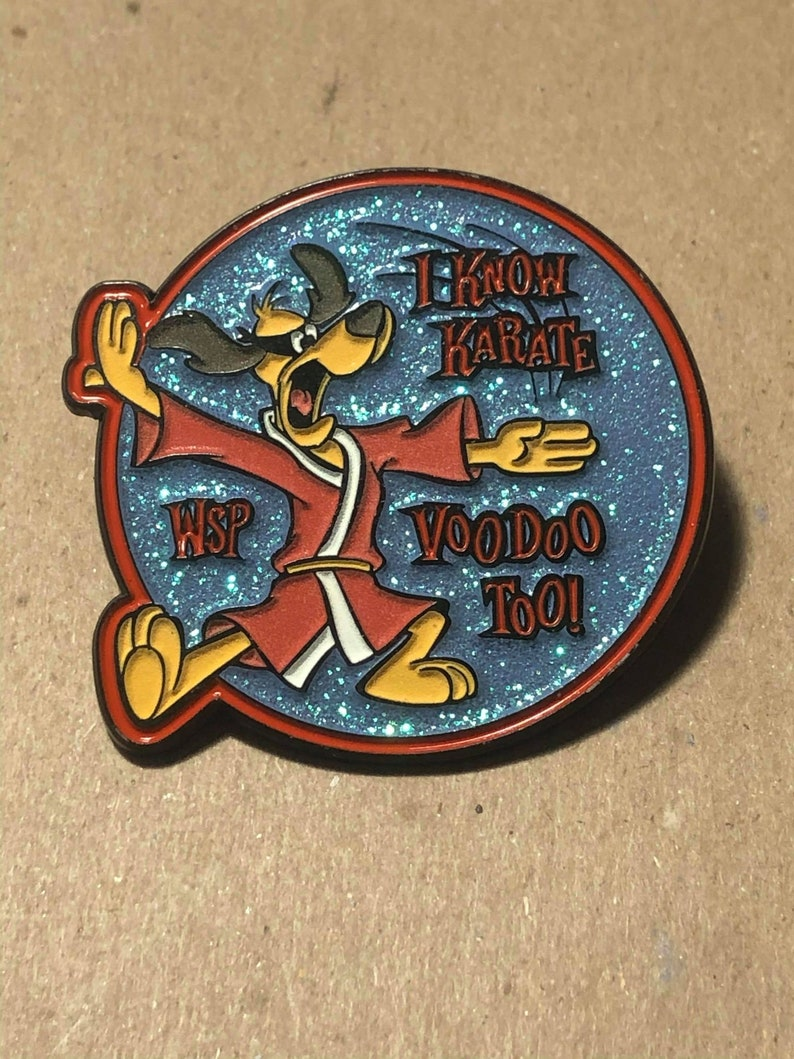 Hong Kong Phooey Going Out West 2 Soft Enamel Pin
