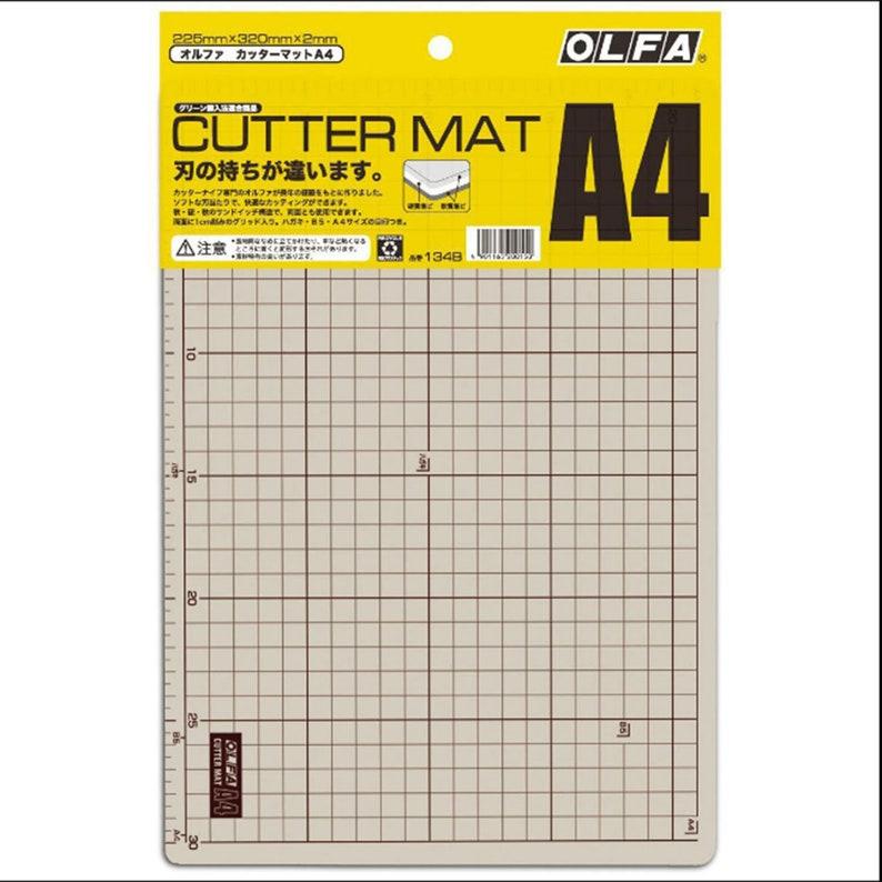 CoffeegrayishLeather ToolLeatherworking Mat OLFA A1A2A3A4  Self-Healing Cutting Mat  Cutting Mat