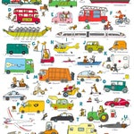 ABC poster-Vehicles (Dina 1)