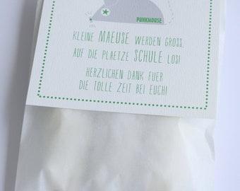 DIY - MÄUSE in the bag - Farewell gift
