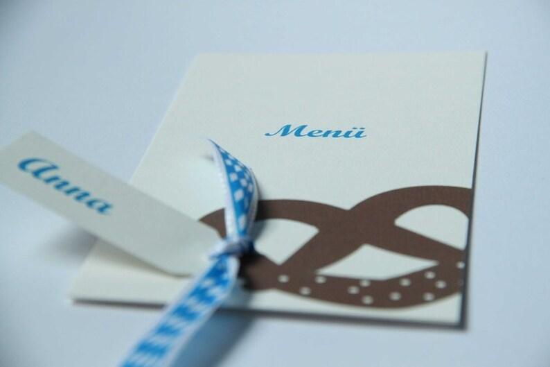 Menu card OCTOBER. FEST image 0