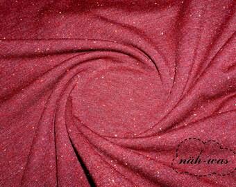 Confetti Sweat Dark Red Cosy Colours