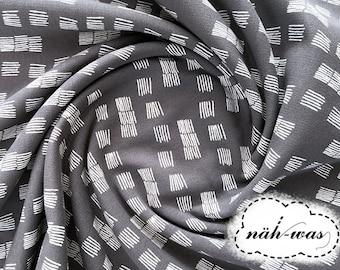 Scribble Stroke * Pattern * Sweat Fabric * Graphic Design * Grey