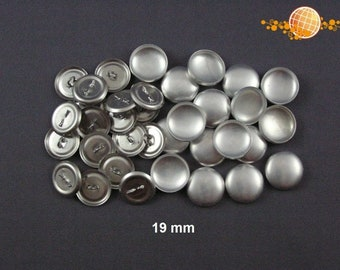 Overcoatable buttons 19 mm