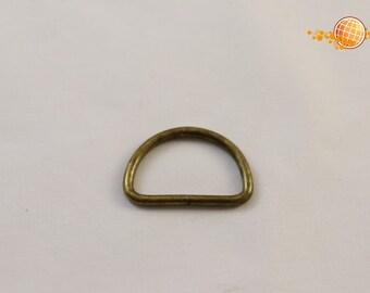 D-ring bronze 25 mm