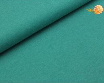 Jersey melange sea green