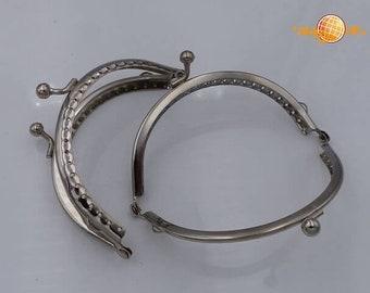 Pocket bracket 10.8 cm silver coloured