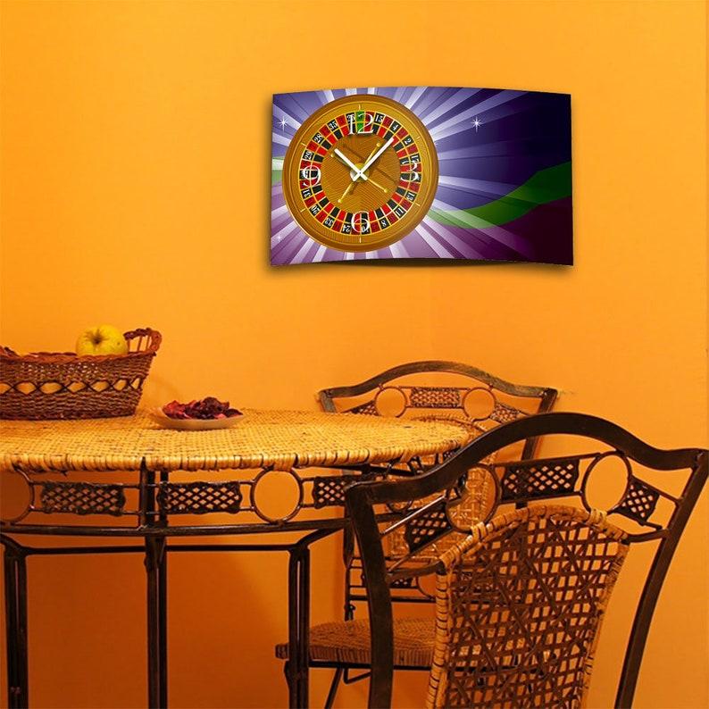 Digital Designer Art Roulett Designer Wall Horloge Abstract Modern Wall Clocks Design Quiet No Ticking DIXTIME 3D-0424