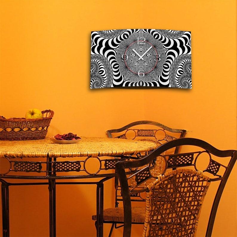Digital Art sw Designer Wall Clock Modern Wall Clocks Design Quiet No Ticking DIXTIME 3D-0334