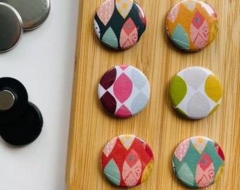 Set - mixed pattern 2 - Magnet / Button